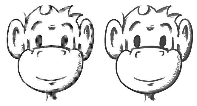 Manga Studio Pencil Comparison