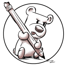 Square Bear illustration